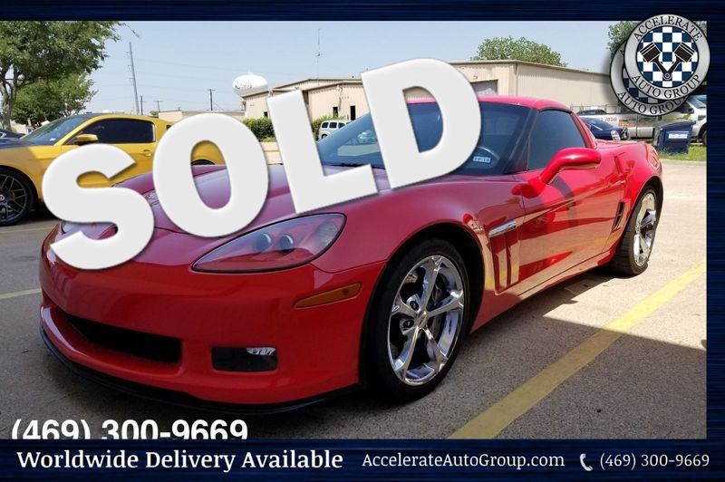 2010 Chevrolet Corvette Grand Sport NAV 35K Miles 3LT in Rowlett Texas