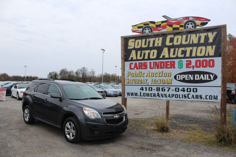 2010 Chevrolet Equinox LT w1LT  city MD  South County Public Auto Auction  in Harwood, MD