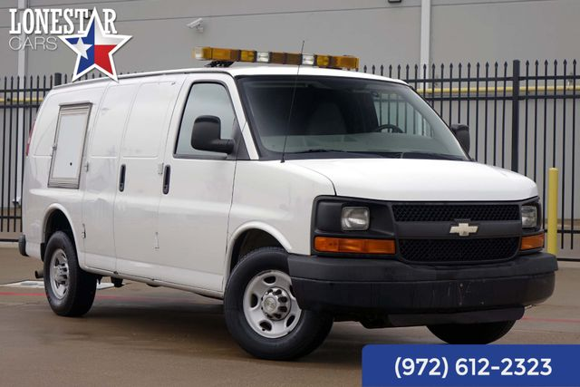 2010 Chevrolet G2500 Van Express Animal Control Van Rear Air One Owner