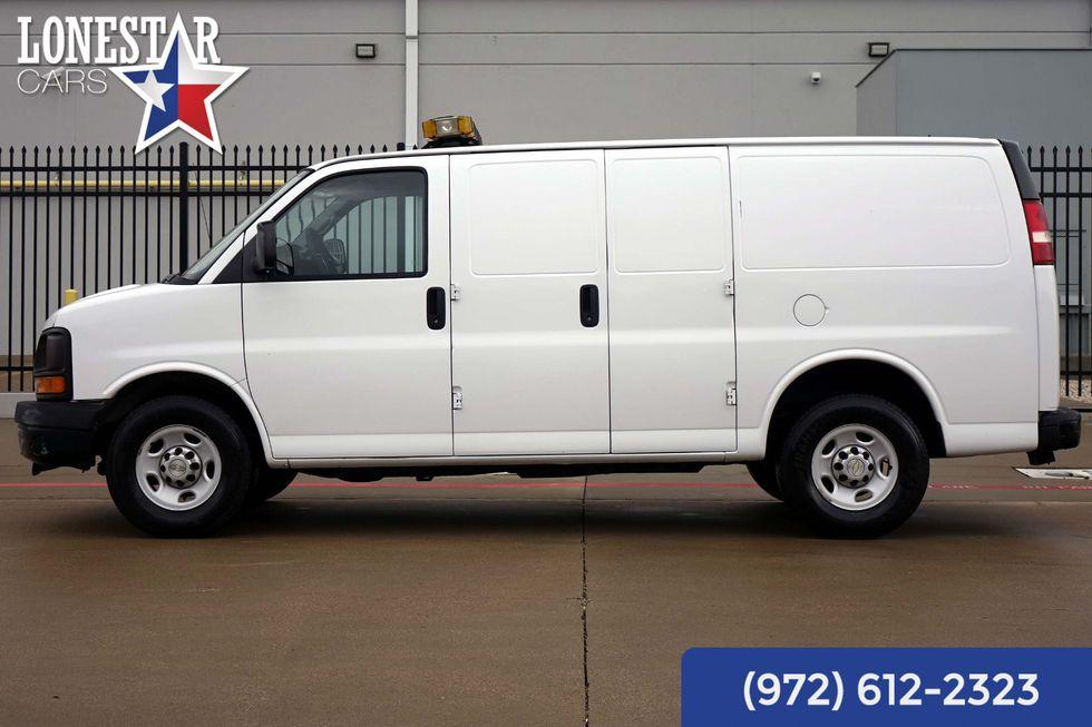 2010 Chevrolet G2500 Van Express Animal Control Van Rear Air One Owner