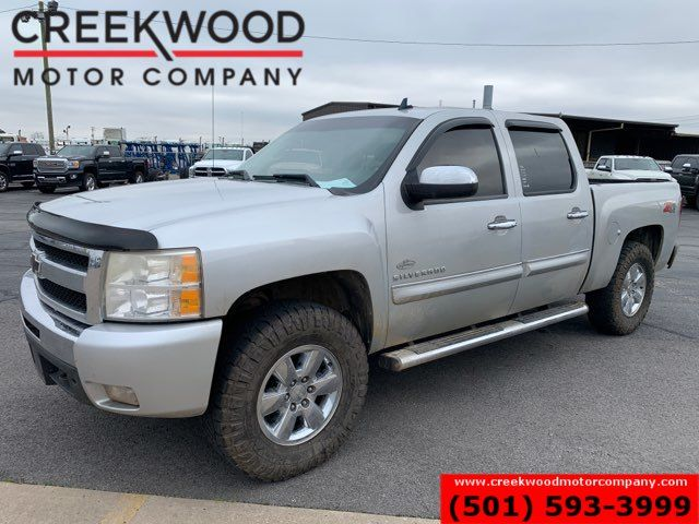 2010 Chevrolet Silverado 1500 LT 4x4 Z71 Crew Cab Silver New Tires Cloth NICE in Searcy, AR 72143