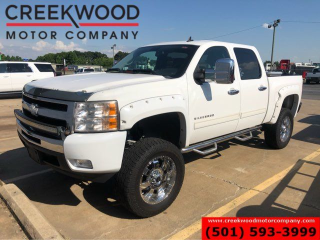 2010 Chevrolet Silverado 1500 LT 4x4 Z71 Lifted Chrome 20s Leather Extras NICE