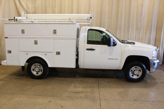 2010 Chevrolet Silverado 2500HD reg. cab utility truck Work Truck in Roscoe, IL 61073