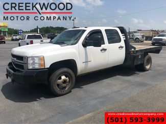 2010 Chevrolet Silverado 3500HD W/T Dually Diesel 4x4 Utility Flatbed 1 Owner in Searcy, AR 72143