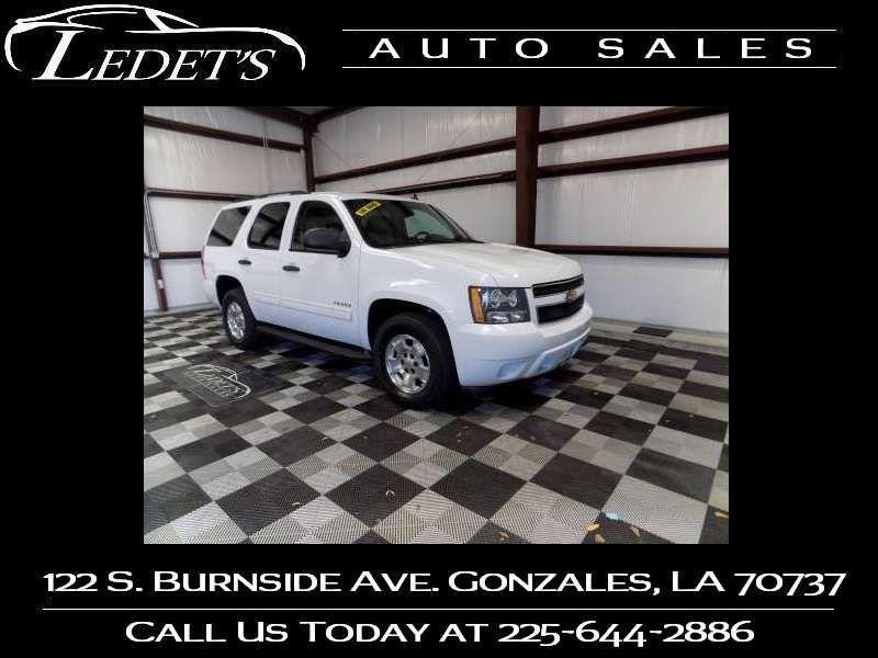 2010 Chevrolet Tahoe LS - Ledet's Auto Sales Gonzales_state_zip in Gonzales Louisiana
