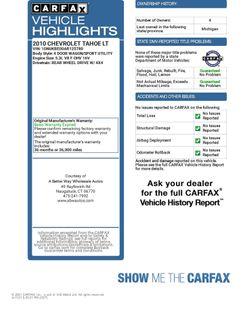 2010 Chevrolet Tahoe LT Naugatuck, Connecticut 1