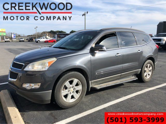 2010 Chevrolet Traverse LT Leather Heated Sunroof Tv Dvd Gray NICE