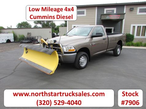 2010 Dodge 2500 Cummins 4x4 Plow Pickup Truck  in St Cloud, MN