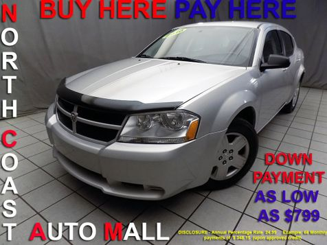 2010 Dodge Avenger SXT As low as $799 DOWN in Cleveland, Ohio