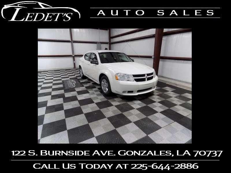 2010 Dodge Avenger SXT - Ledet's Auto Sales Gonzales_state_zip in Gonzales Louisiana