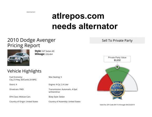 2010 Dodge Avenger SXT Salt Lake City, UT