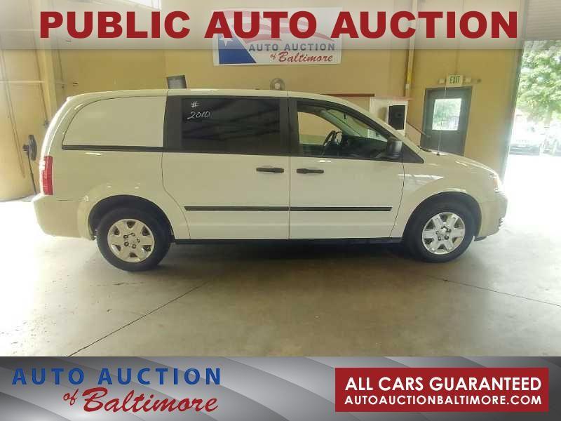 2010 Dodge Grand Caravan C/V  | JOPPA, MD | Auto Auction of Baltimore  in JOPPA MD