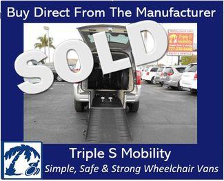 2010 Dodge Grand Caravan Sxt Wheelchair Van Handicap Ramp Van Pinellas Park, Florida
