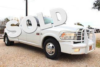 2010 Dodge Ram 3500 DRW Laramie Crew Cab 2wd 6.7L Cummins Diesel 6 Speed Sealy, Texas