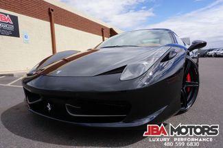2010 Ferrari 458 Italia Coupe ~ Carbon Fiber ~ Highly Optioned ~ MUST SEE!   MESA, AZ   JBA MOTORS in Mesa AZ