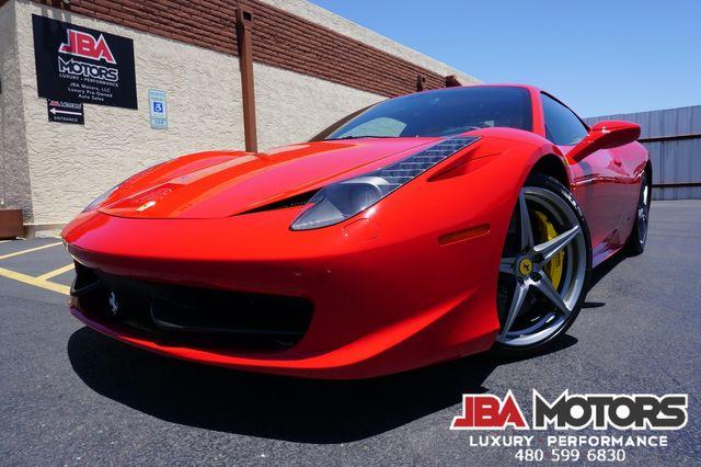2010 Ferrari 458 Italia Coupe ~ Front Lift Carbon Fiber Scuderia Shields