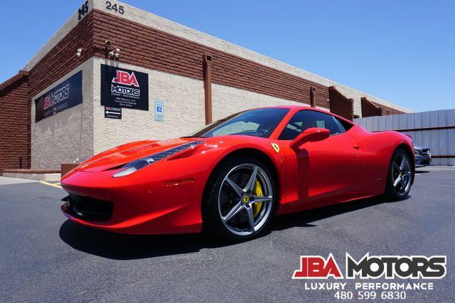 2010 Ferrari 458 Italia Coupe ~ Front Lift Carbon Fiber Scuderia Shields in Mesa, AZ 85202