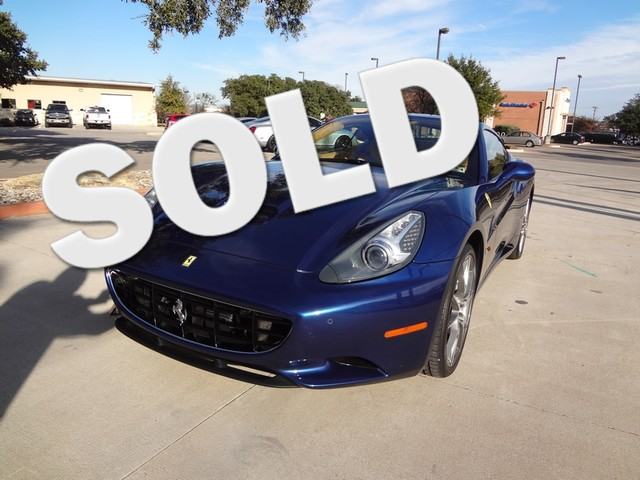 2010 Ferrari California Austin , Texas 0