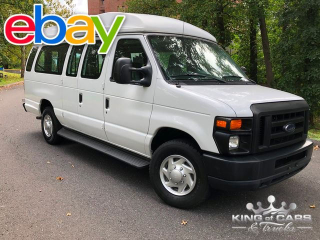 2010 Ford E250 Handicap VAN BUS BRAUNLIFT WHEELCHAIR LIFT LOW MILES