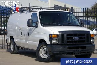 2010 Ford E250 Cargo Van One Owner 24 Service Records Shelves in Plano Texas, 75093