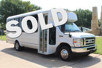 2010 Ford E450 22 Passenger Eldorado Shuttle Bus W/ Rear Luggage Storage Irving, Texas