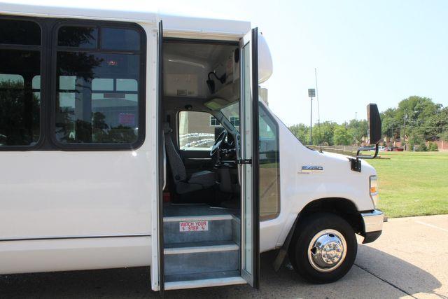 2010 Ford E450 22 Passenger Eldorado Shuttle Bus W/ Rear Luggage Storage Irving, Texas 12