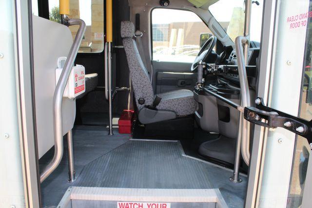 2010 Ford E450 22 Passenger Eldorado Shuttle Bus W/ Rear Luggage Storage Irving, Texas 14
