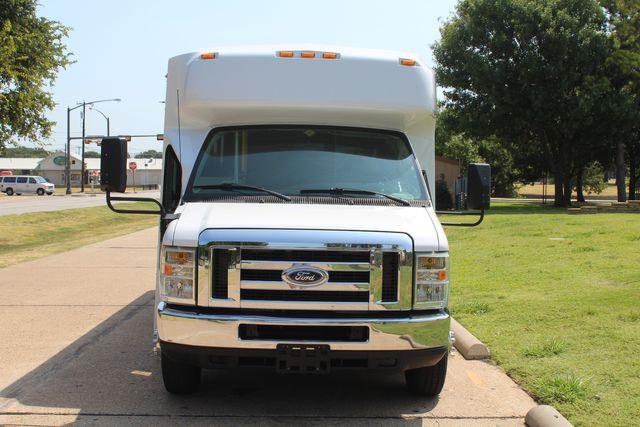 2010 Ford E450 22 Passenger Eldorado Shuttle Bus W/ Rear Luggage Storage Irving, Texas 2