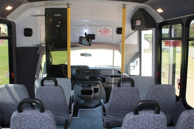 2010 Ford E450 22 Passenger Eldorado Shuttle Bus W/ Rear Luggage Storage Irving, Texas 25
