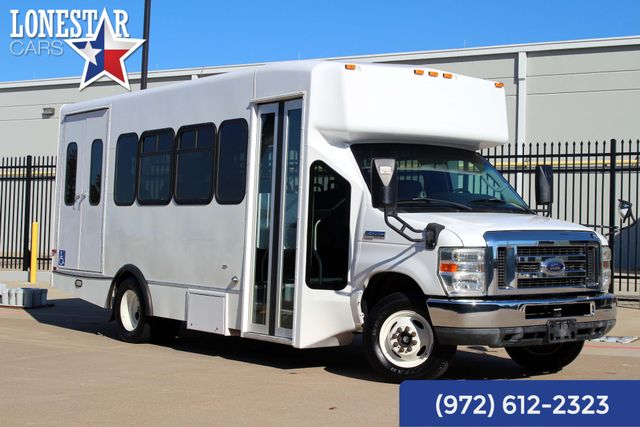 2010 Ford E450 Shuttle Bus El Dorado 11 Passenger Wheel Chair Lift