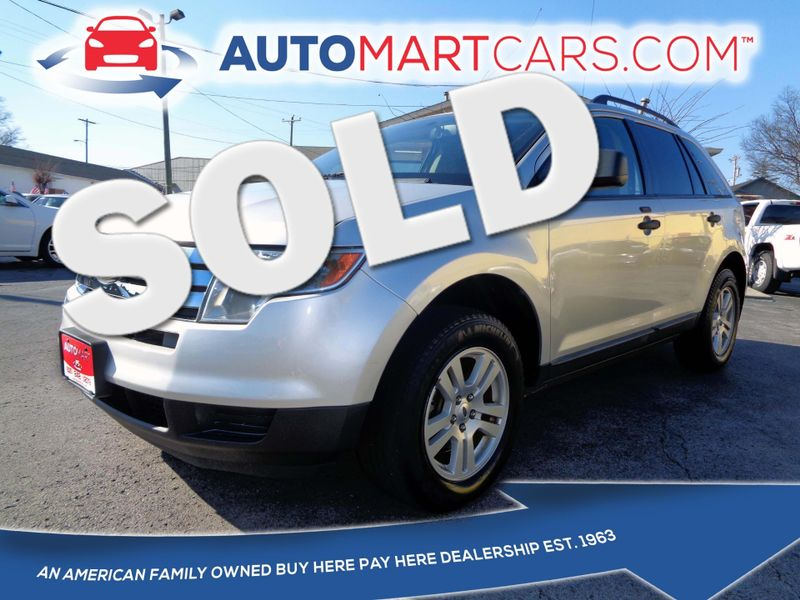 Ford Edge Se Nashville Tennessee Auto Mart Used Cars Inc In