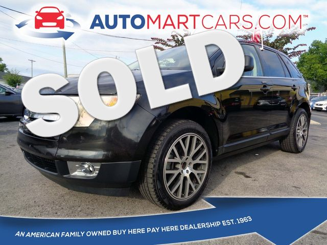 2010 Ford Edge Limited   Nashville, Tennessee   Auto Mart Used Cars Inc. in Nashville Tennessee