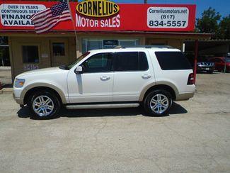 2010 Ford Explorer Eddie Bauer   Fort Worth, TX   Cornelius Motor Sales in Fort Worth TX