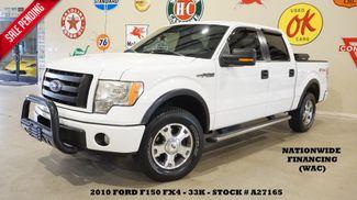 2010 Ford F-150 FX4 6 DISK CD,MICROSOFT SYNC,CLOTH,33K,WE FINANCE in Carrollton TX, 75006
