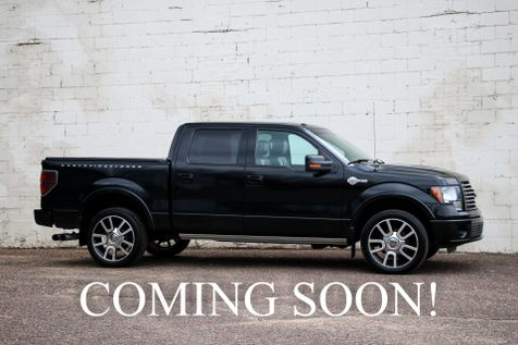 2010 Ford F-150 Harley-Davidson Crew Cab 4x4 w/Navigation, Heated/Cooled Seats, Two-Tone Interior & 22