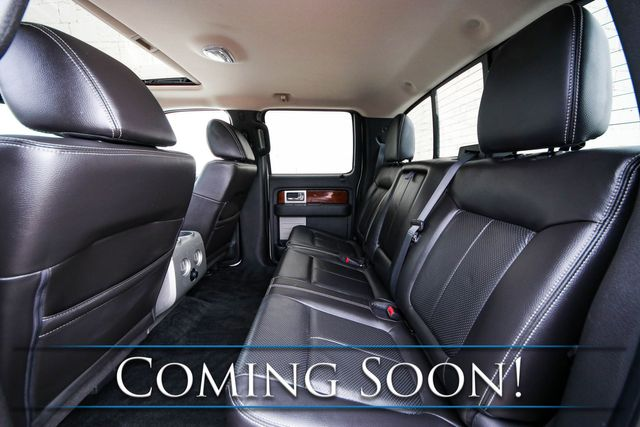 2010 Ford F-150 Lariat Crew Cab 4x4 w/Navigation, Heated/Cooled Seats, Moonroof & Sony Audio in Eau Claire, Wisconsin 54703