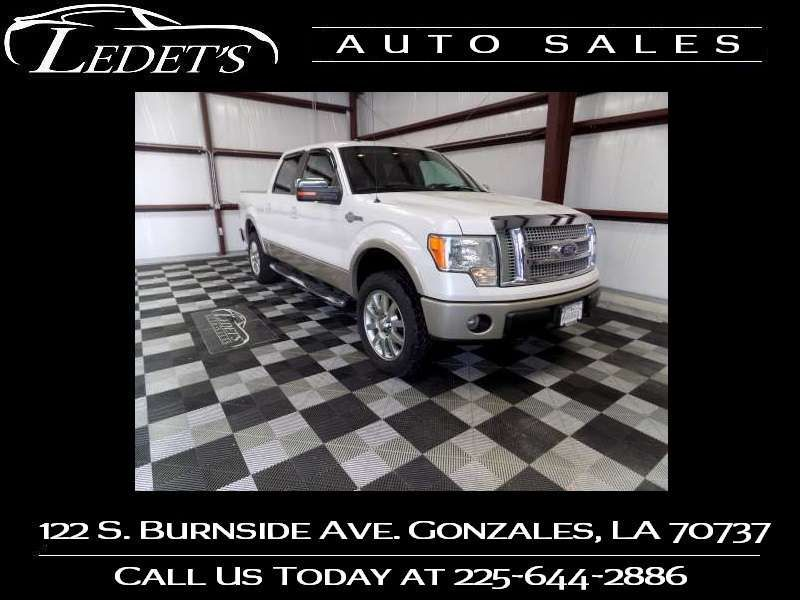 2010 Ford F-150 King Ranch - Ledet's Auto Sales Gonzales_state_zip in Gonzales Louisiana