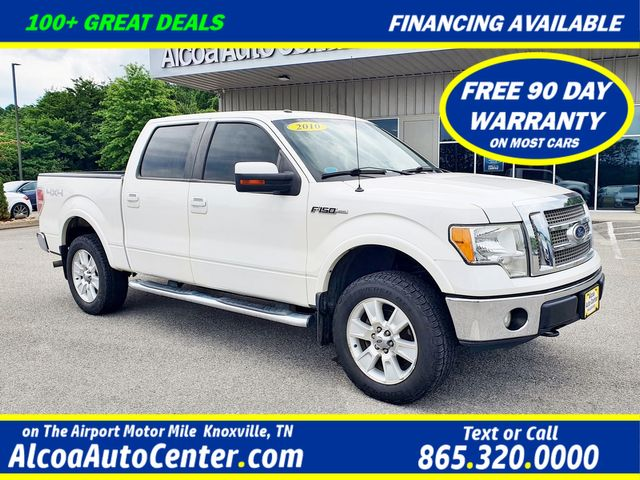 "2010 Ford F-150 Lariat PLUS PKG SuperCrew 4X4 Leather/20"" Wheels"