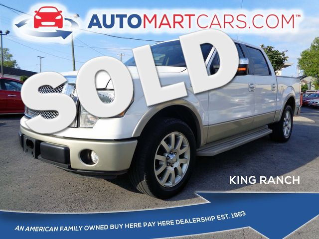 2010 Ford F-150 King Ranch   Nashville, Tennessee   Auto Mart Used Cars Inc. in Nashville Tennessee