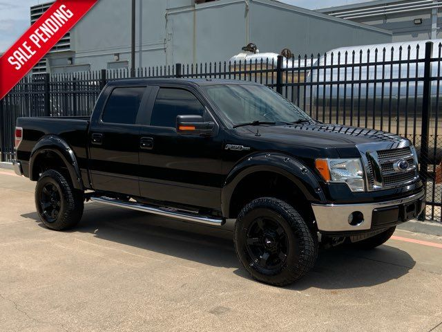 2010 Ford F-150 Lariat * Lifted * 35's * A/C SEATS * Clean Carfax in Plano, Texas 75093