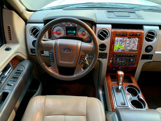 2010 Ford F-150 LARIAT NAVIGATION BACK-UP CAMERA SERVICE RECORDS in Van Nuys, CA 91406