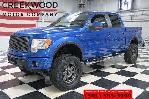 2010 Ford F-150 FX4 Lariat 4x4 Blue Lifted 35s Fuel 20s Leather in Searcy, AR