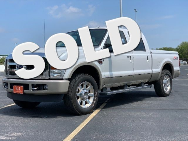 2010 Ford F-250 SD Crew Cab King Ranch 4WD