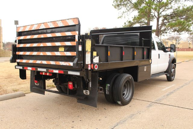 2010 Ford F-450 Crew Cab Flatbed Stake Bed Contractor Work Truck W/ Lift Irving, Texas 10