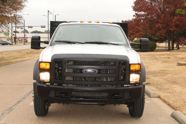 2010 Ford F-450 Crew Cab Flatbed Stake Bed Contractor Work Truck W/ Lift Irving, Texas 2