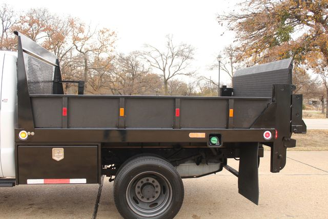 2010 Ford F-450 Crew Cab Flatbed Stake Bed Contractor Work Truck W/ Lift Irving, Texas 7