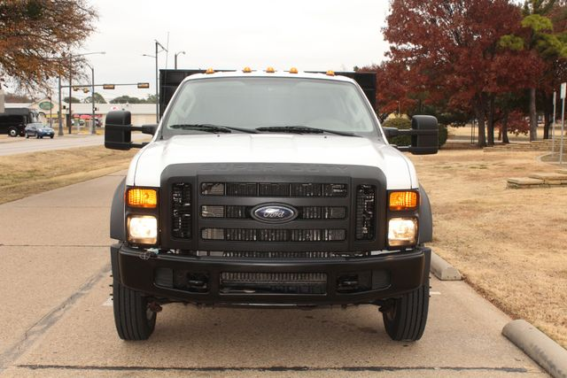2010 Ford F-450 Crew Cab Flatbed Stake Bed Contractor Work Truck W/ Lift Irving, Texas 63