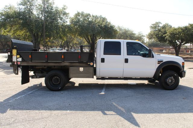 2010 Ford F-450 Crew Cab Flatbed Stake Bed Contractor Work Truck W/ Lift Irving, Texas 14