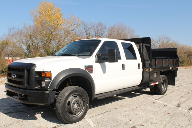 2010 Ford F-450 Crew Cab Flatbed Stake Bed Contractor Work Truck W/ Lift Irving, Texas 64