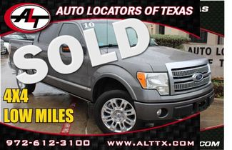 2010 Ford F150 Platinum | Plano, TX | Consign My Vehicle in  TX